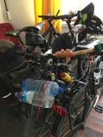 Onze kamer inclusief fietsen